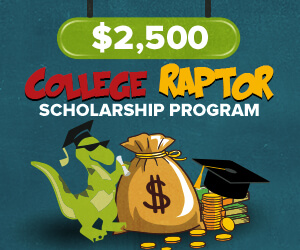 College Raptor Scholarship Program