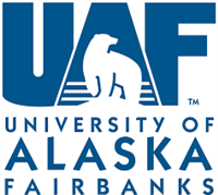 University of Alaska Fairbanks logo.