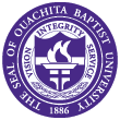 Ouachita Baptist University logo.