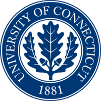 University of Connecticut logo.