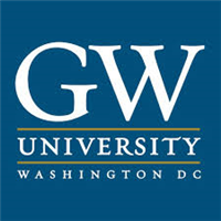 George Washington University logo.