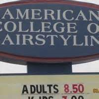 American College of Hairstyling-Des Moines Campus Information, Costs