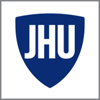 Johns Hopkins University logo.