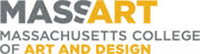 Massachusetts College of Art and Design logo.