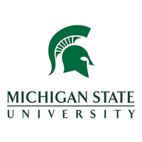 Michigan State University logo.