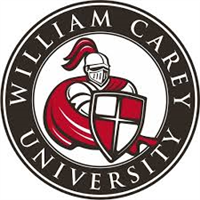 William Carey University logo.