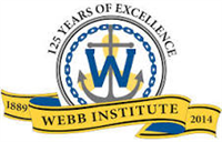 Webb Institute logo.