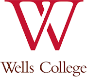 Wells College logo.