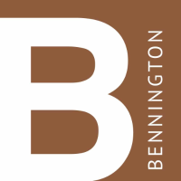 Bennington College logo.