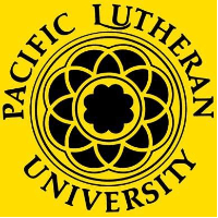 Pacific Lutheran University logo.
