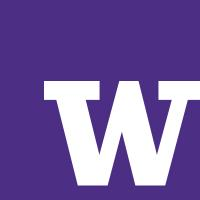 A letter 'W' with violet background.