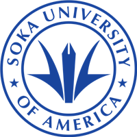 Soka University of America logo.