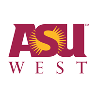 ASU West logo.