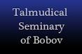 Talmudical Seminary of Bobov logo