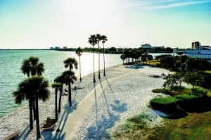 Eckerd College is one of many college campuses on the beach