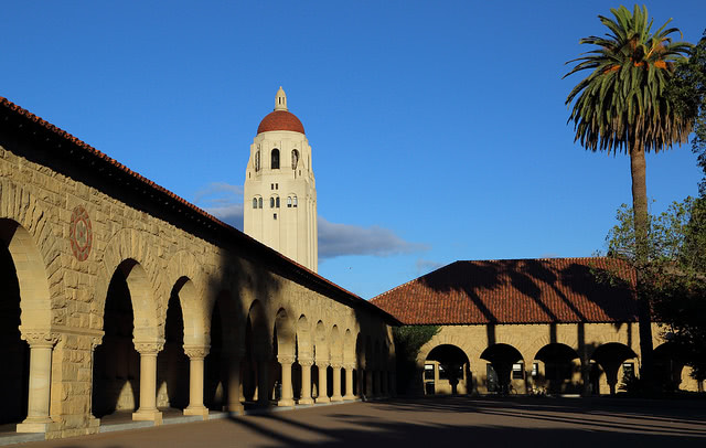 Stanford University by Don McCullough