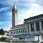 PHotograph of the UC Berkeley campus, one of the state universities in the state of California.