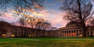 MIT is one of many pet-friendly college campuses