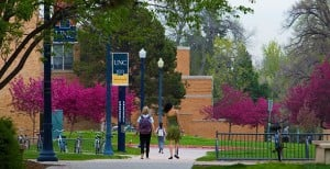 The University of Northern Colorado is one of many pet-friendly college campuses