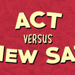 The ACT vs new SAT infographic