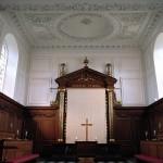 Emmanuel College chapel - religious colleges