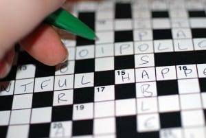 Dream jobs - crossword puzzle writer