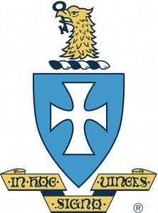Sigma Chi Fraternity logo featuring an eagle, key, and cross.