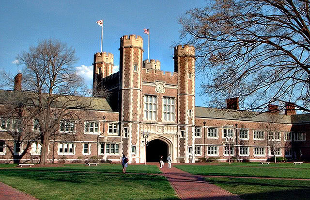 Brookings Hall at Washington University in St. Louis.