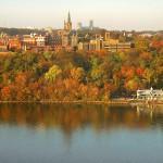 Georgetown University's main campus.