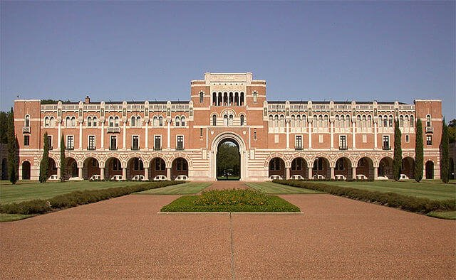 Lovett Hall at Rice University.