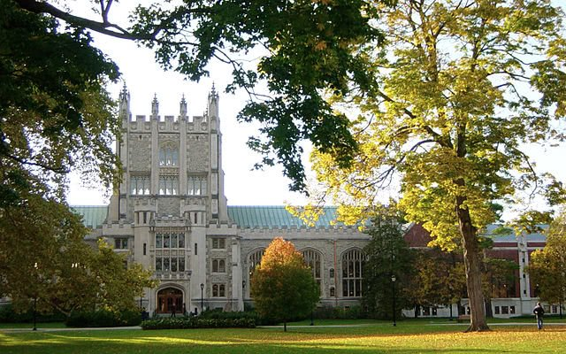 Thompson Library at Vassar College.