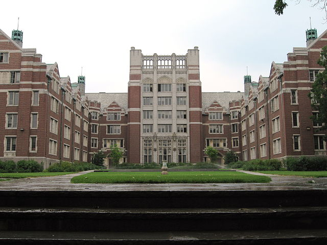 Wellesley College campus buildings.