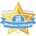 Top 25 Medium-sized Colleges