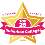 Top 25 Suburban Colleges