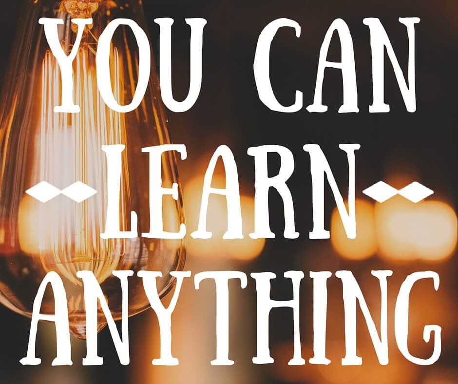 Anybody can learn anything - Google Slides