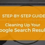 Cleaning up your google search result
