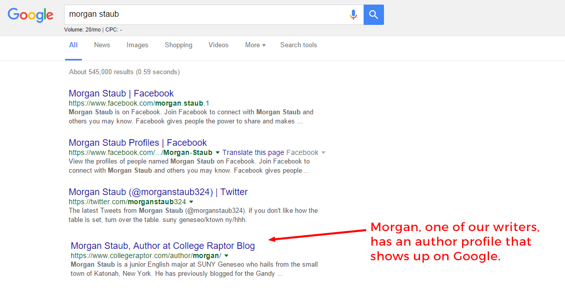 control what shows up when someone googles your step by step writing profile google