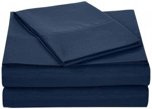 """must haves"" for surviving -- amazonbasics microfiber sheet set"