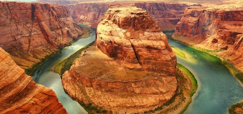 Horseshoe Bend Canyon in Arizona.