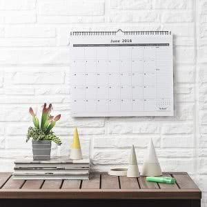 """must-haves"" for surviving college - nekmit monthly wall calendar"