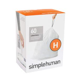 """must-haves"" for surviving college -- simplehuman code h trash bags"