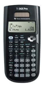 Texas Instruments TI-36X Pro Engineering/Scientific calculator. Click to view its Amazon page.