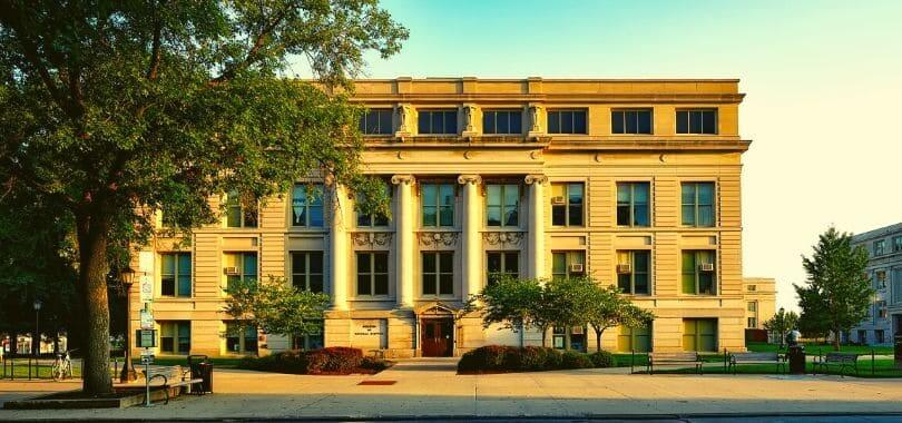 A building on the University of Iowa campus.