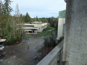 Outdoorsy students - Evergreen State College