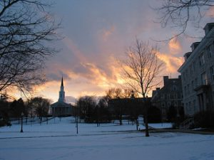 Outdoorsy students - Middlebury college