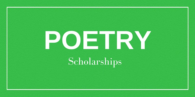 5 Poetry Scholarships For College - College Raptor