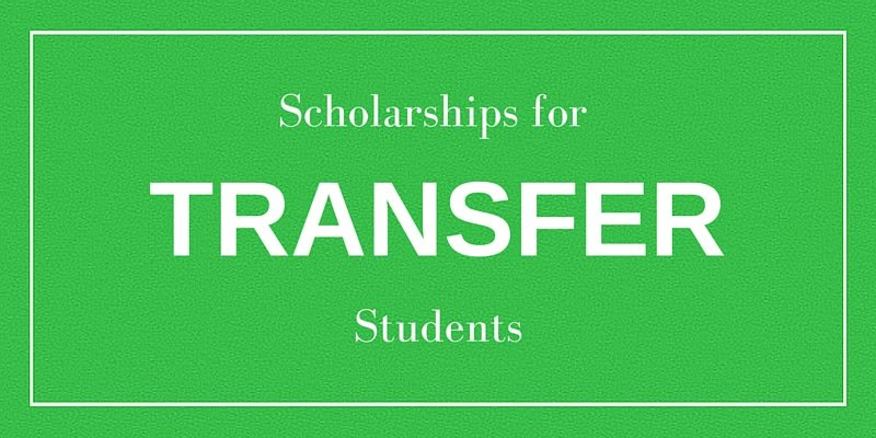 Scholarships for transfer students