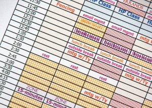 Your college schedule can get cluttered quickly. Here are some tips on how to create your college schedule