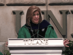 celebrity commencement speaker