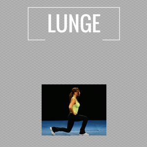 Exercises - lunge